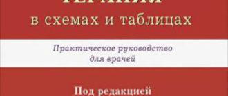 Неотложная терапия в схемах и таблицах — Алексеева О.П.